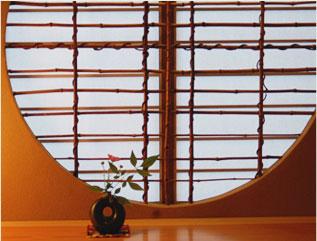 京都を手本とした侘び寂び